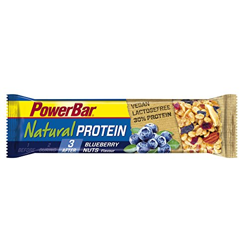 Powerbar Natural Protein Bar Blueberry Nuts, 24 Riegel  40g