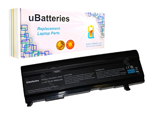 Click to buy UBatteries Laptop Battery Toshiba Satellite A105-S2224 - 9 Cell, 6600mAh - From only $45.95