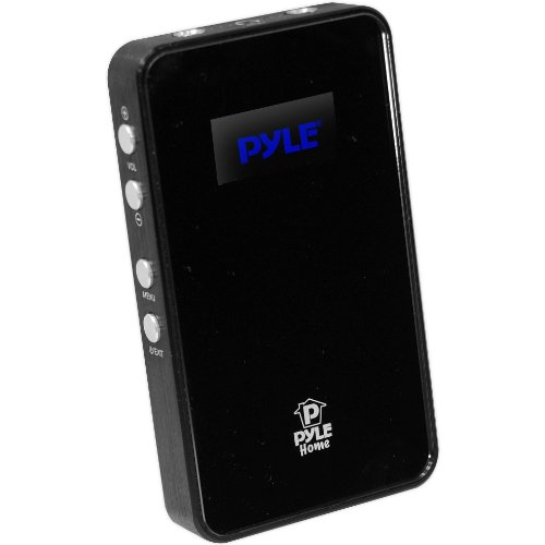 Pyle Home Phe7Ab Usb Dac And Portable Headphone Amplifier Black