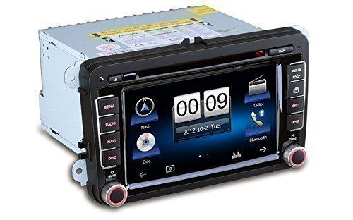 Aurora V7 ICARTECH Système de navigation multimédia spécialement conçu pour VW, SEAT, SKODA - Technologie Bluetooth avec recherche a-b-c - Navigation GPS - Évolutivité grâce aux produits iMatch: double
