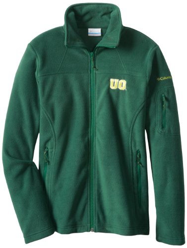 Ncaa Oregon Ducks Women'S Give And Go Fz Jacket, Forest, X-Small