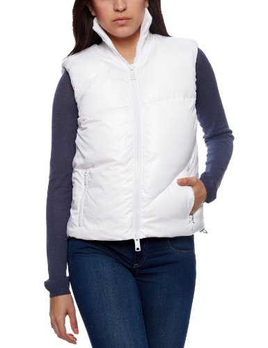 DKNY Down Women's Gillet White Small