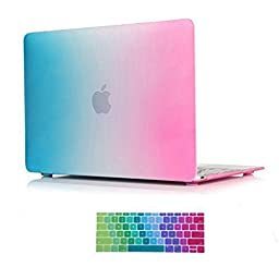 Macbook Pro 13 Case,ACCUCASE(TM) 13-inch macbook pro case,macbook pro 13 case,Ultra Slim Rubberized Hard Case Light Weight Matte Cover for MacBook Pro 13-inch (A1278) Rainbow