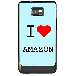 Skin4gadgets I love Amazon Colour - Light Blue Phone Skin for SAMSUNG GALAXY S2 (I9100)