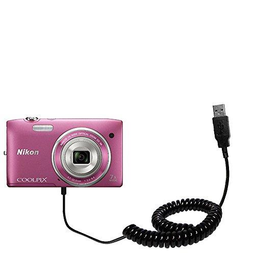 aufgewickeltes-usb-kabel-kompatibel-mit-nikon-coolpix-s3500-mit-den-funktionen-datentransfer-und-auf