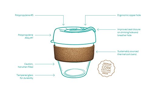 KeepCup Brew Filter Limited Kork Edition small (227 ml)