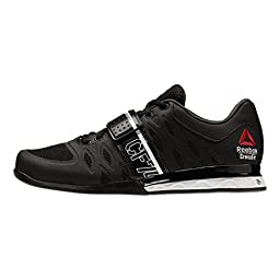 Reebok Women\'s R Crossfit Lifter 2.0 Training Shoe, Black/White/Gravel, 5.5 M US