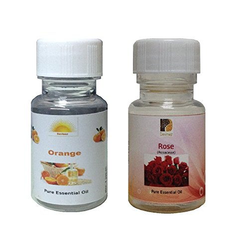 Devinez Aroma Orange And Rose Essential Oil For Diffusers, 30ml (Pack Of 2)