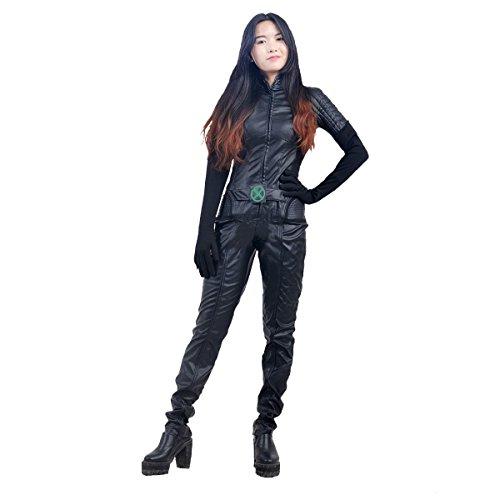 HZYM Womens X,Men Rogue Cosplay Costume (S)