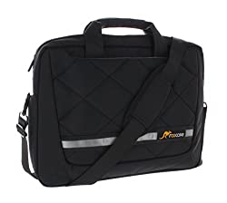 roocase 15.6 Travel Mate Messenger Carrying Bag for 15.6 inch Laptop / Ultrabook / Macbook Pro / Tablet / iPad...