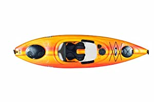 Pelican Liberty 100X Kayak, Fade Red Yellow by Pelican