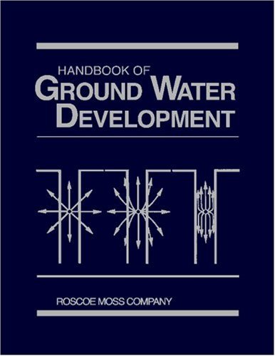 Handbook Of Ground Water Development