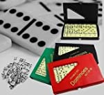 Double 6 Six Dominoes Set of 28 with...