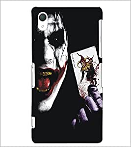 PrintDhaba Joker D-5349 Back Case Cover for SONY XPERIA Z2 (Multi-Coloured)