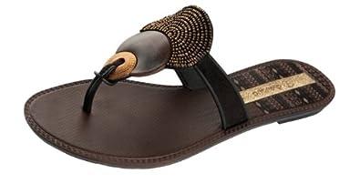 Grendha Kira femmes Flip Flops / Sandals - noir - SIZE EU 37