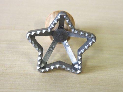 Eppicotispai Aluminum Star Ravioli Stamp