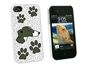 Graphics and More Greyhound of Excellence - Snap On Hard Protective Case for Apple iPhone 4 4S - White - Carrying Case - Non-Retail Packaging - White