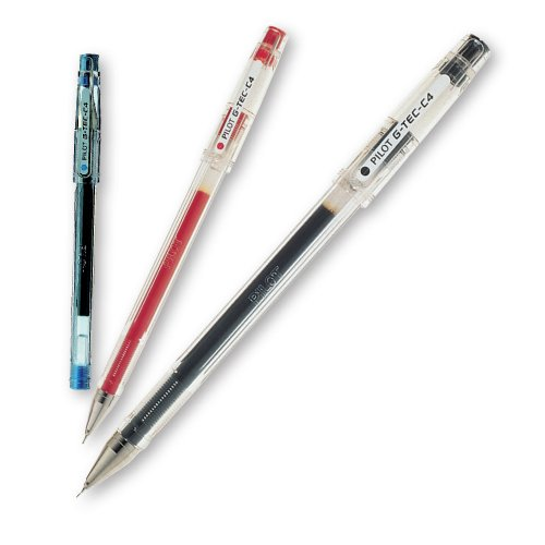 Pilot G-TEC-C4 - Paquete de 10 bolígrafos de tinta gel, multicolor