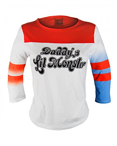 Harley Quinn Suicide Squad maniche lunghe S / 32