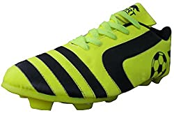 Port Mens Soccer Green PU Football Shoes( Size 9 ind/uk)