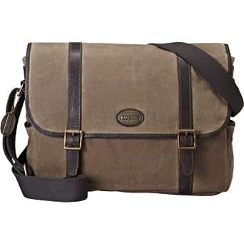 Fossil Estate Laptop Messenger (Khaki)
