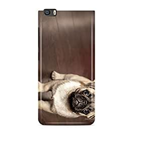 99mBox - Cute Dog with Blue Eyes Xiaomi Redmi Mi5 cover- Matte Polycarbonate 3D Hard case Mobile Cell Phone Protective BACK CASE COVER. Hard Shockproof Scratch-Proof Accessories