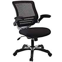 Big Sale LexMod Edge Office Chair with Black Mesh Back and Mesh Fabric Seat