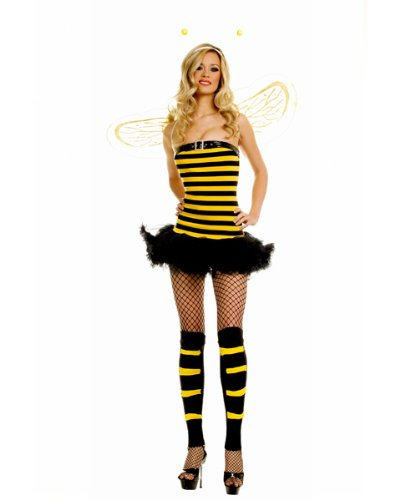 Sexy Bumble Bee Adult Costume