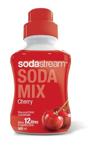 Sodastream 500ml (12L) Sparkling Mixer - Cherry
