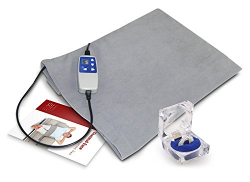 Far Infrared Therapeutic Pad: A Large Heating Pad To Treat Any Part Of Your Body. It Is Soft And Comfortable, With Fir Penetrating Up To 2 Inches, It Is Especially Soothing On Your Lap. 1 Year Warranty North American Support And Services.