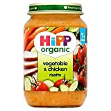 HiPP Organic Vegetable & Chicken Risotto 7+ Mths 190G