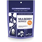 Navitas Naturals Organic Mulberries, 8-Ounce Pouch