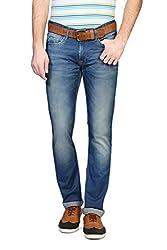V Dot Men's Formal Trousers (8907445261367_VDDN316D03985_36W x 32L_Dark Blue Solid)