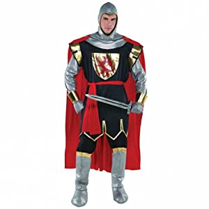 Christy`s Brave Crusader Knight Adult Standard Fancy Dress Costume