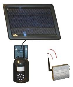 cam ra de surveillance sans fil solaire appareils lectroniques bricolage. Black Bedroom Furniture Sets. Home Design Ideas