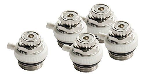 Automatik-Entlüftungsventil für Heizkörper   Automatisches Entlüftungsventil für Heizung   5er-Set   Mehrkant-Ventil   ½-Ventil