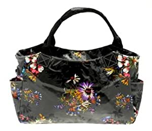 Beautiful 'Nice' Floral Vintage Inspired Print Cross Hand/Day Bag.