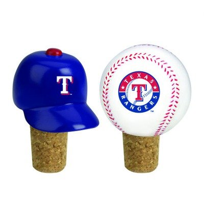 MLB Texas Rangers Team Bottle Cork Set