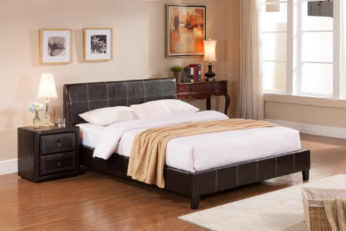 Upholstered Twin Beds 8105 front