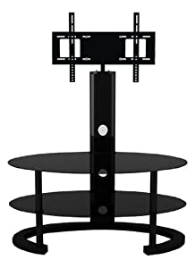Cheap  LED/LCD/Plasma Oval  Glass TV Stand