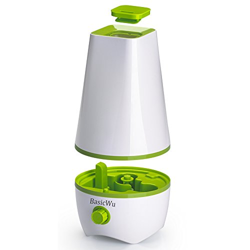 Basicwu cool mist humidifier portable aroma diffuser for Living room humidifier