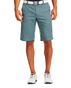 Under Armour Mens UA Gingham Plaid Golf Shorts by Under Armour
