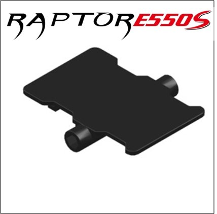 Thunder Tiger RC PV0076 ESC Tray, E550 - 1