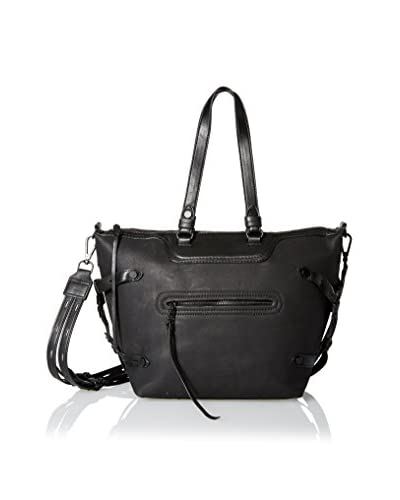 Steve Madden Women's Strippy Satchel, Black
