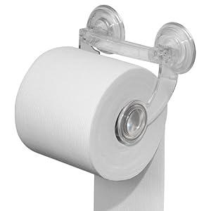 interdesign interdesign euro powerlock suction toilet roll. Black Bedroom Furniture Sets. Home Design Ideas