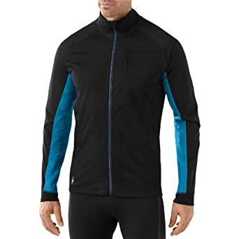 Smartwool Mens PhD Run Divide Jacket, Arctic Blue, Medium by SmartWool