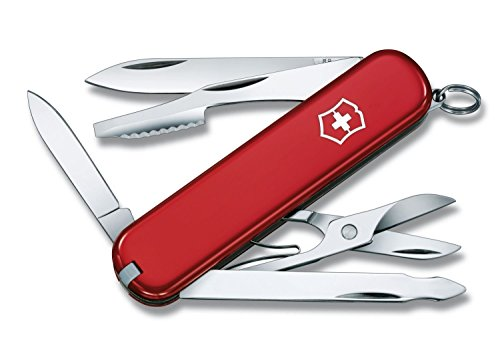 Swiss Army Brand 53401 Victorinox Red Executive Knife 10 Tools in 1