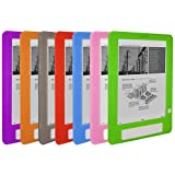 High Quality Amazon Kindle DX E-Book Reader Silicone Skin Cover Case (8 Color options) + Anti Scratch LCD Screen Protector Film ~ MyGift