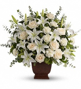 Birthday Flowers - Anniversary - Loving Lilies and Roses Bouquet - Roses, Lilies, Carnations -