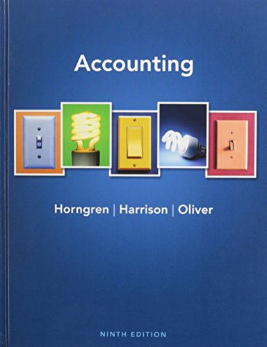 Accounting Plus NEW MyAccountingLab with Pearson eText, Math Tips for Accounting, and Study Guides (9th Edition)